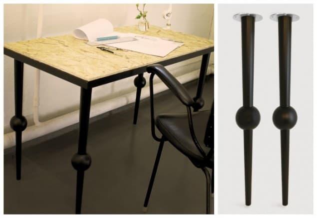 Pretty Pegs Table Legs - Otto Black