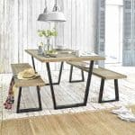 Scrumpy kitchen table from Loaf