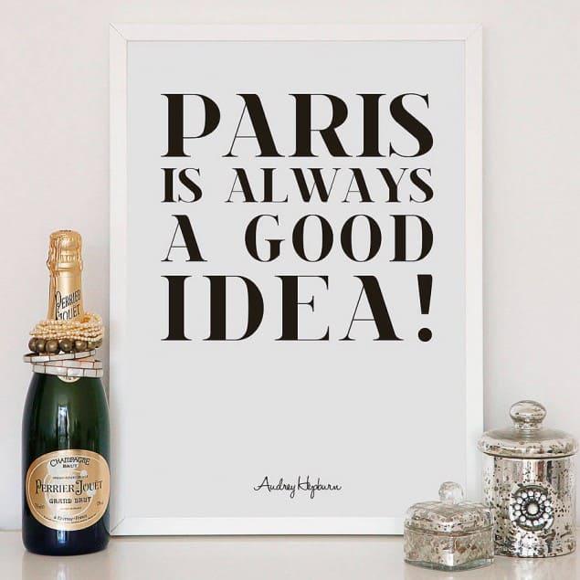 original paris fine art giclee print by Hey! Holla