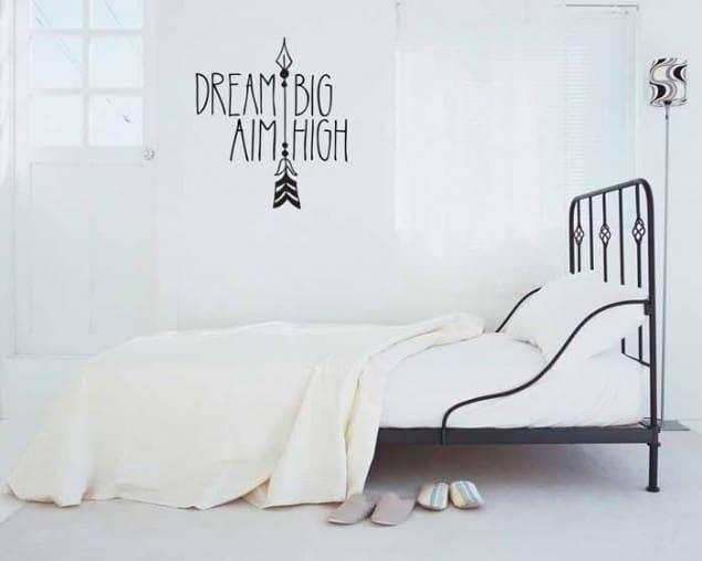 Vinyl Impression Wall Decal -Dream-Big