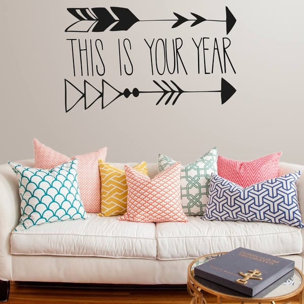 Vinyl Impression wall decal -This-is-your-year