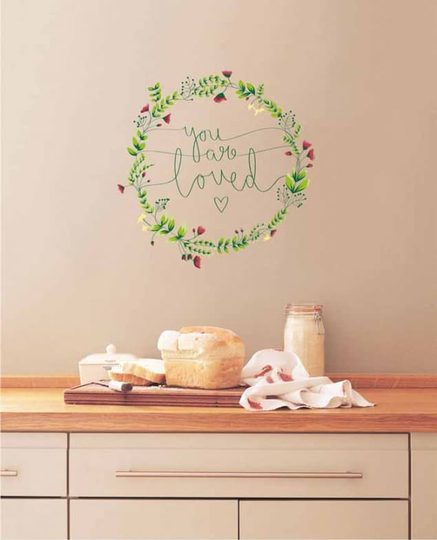 Vinyl Impressions wall decal You-Are-Loved16