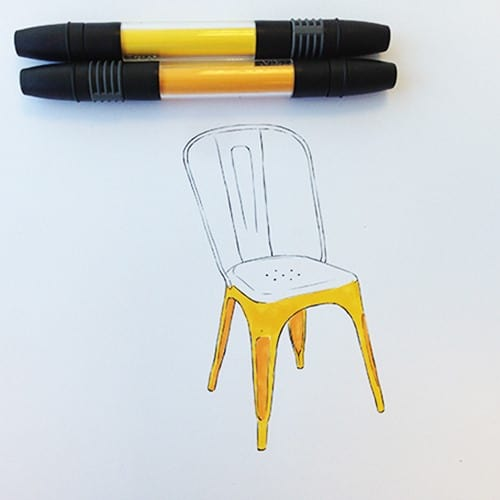Colour Me Good Chairs Colouring Book