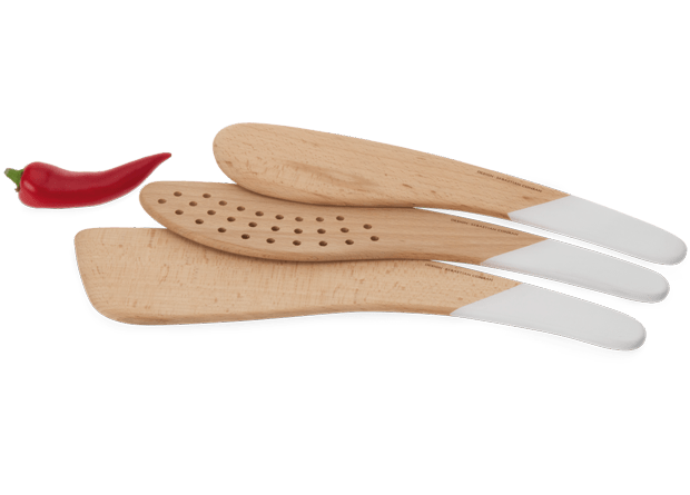 Sebastian Conran Universal Expert Wooden Utensils