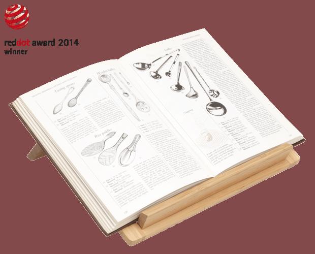 Sebastian Conran Universal Expert Wooden cookbook stand