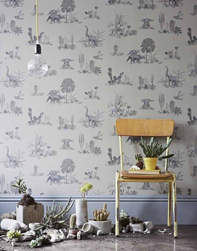 Sian Zeng Dino Grey Wallpaper from Nubie