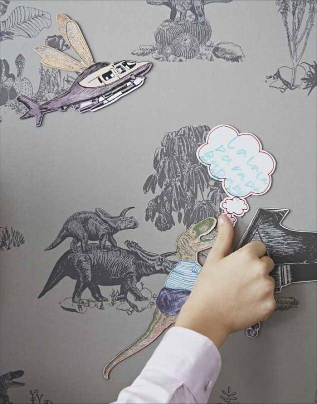 Sian Zeng Dino Magnet Close up Grey by Nubie
