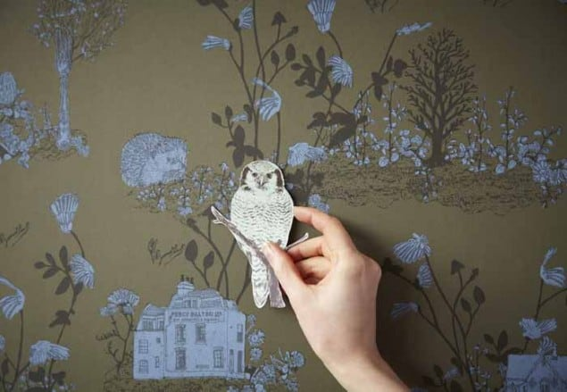 Woodland Magnetic wallpaper by Nubie closeup