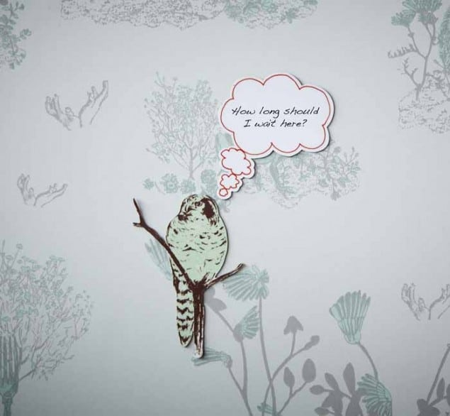 Woodland Magnetic wallpaper by Nubie owl_thought_bubble