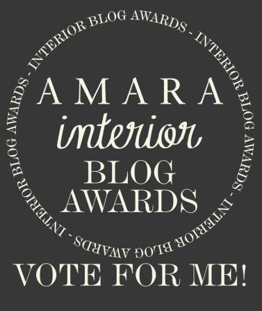 Amara Interior Blog Awards Vote for me badge