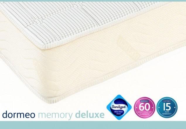 dormeo-memory deluxe mattress