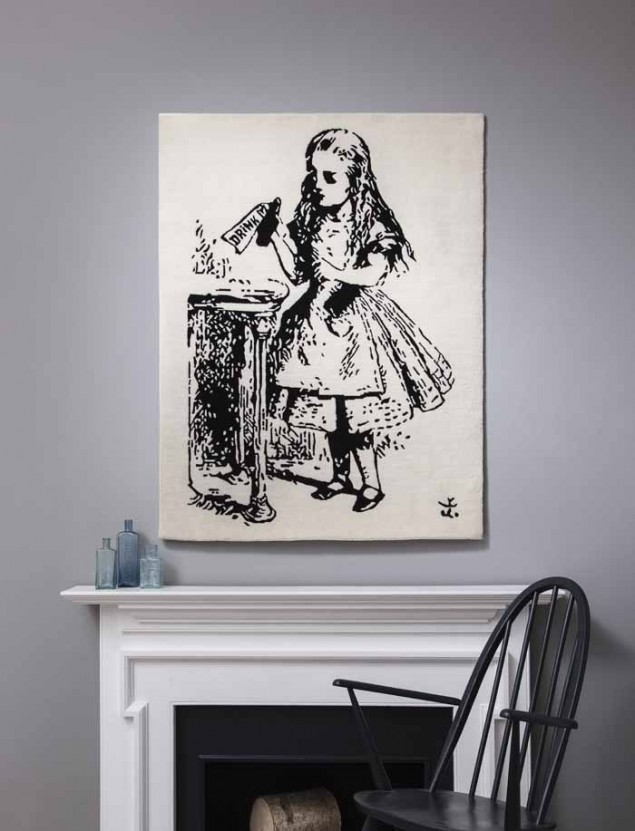 Alice in Wonderland Rug from Rugmaker