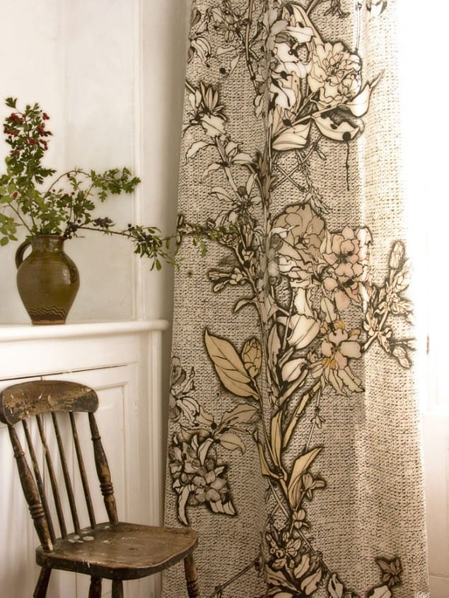 Fabric Rosemary Russet by Sam Pickard