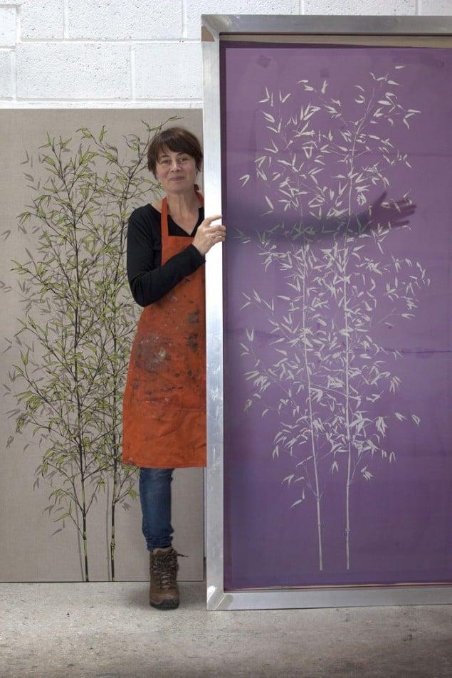 Sam Pickard in her studio
