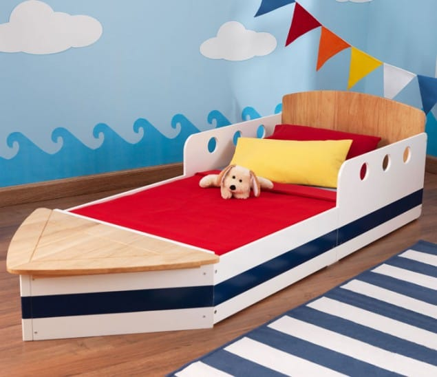 Boys Boat Bed from Cuckooland