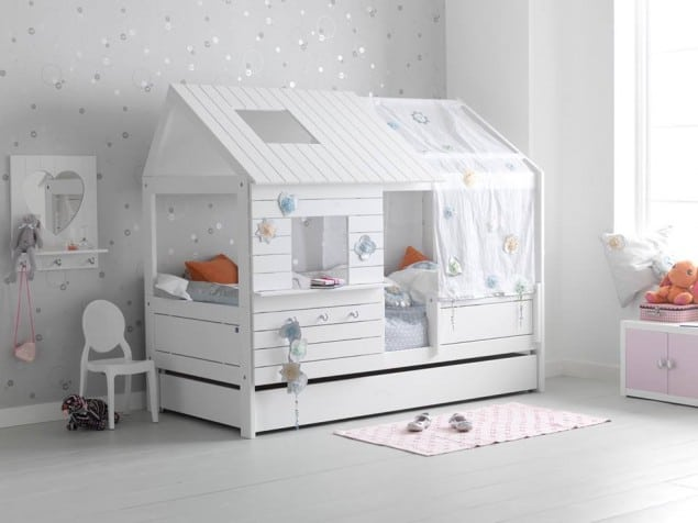 Low Hut Childrens Bed from Cuckooland