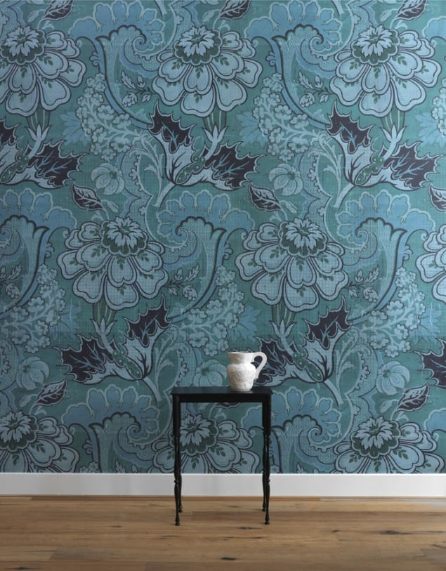 Mr & Mrs Vintage Big Pattern Paola Wallpaper from NLXL