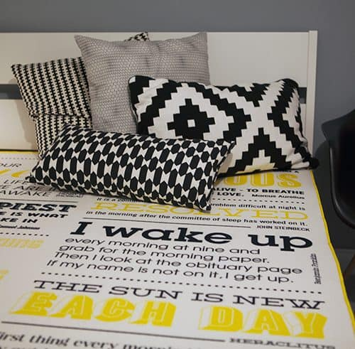 Eve Matress Special Edition typographic design