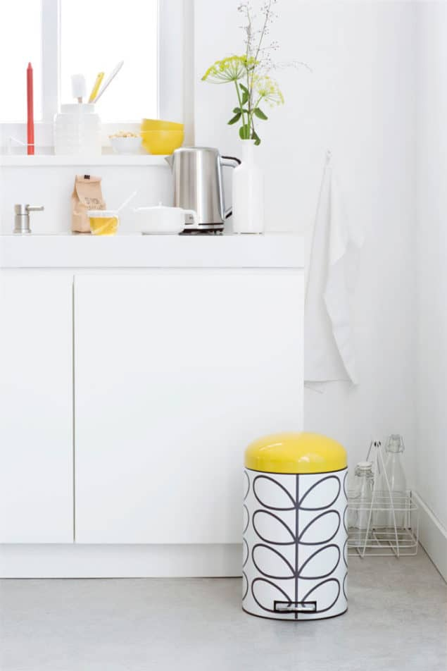 Brabantia & Orla Kiely Retro Bin Collection