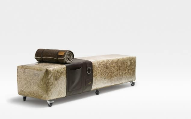 DesRes Straw Bench Leather Accessories