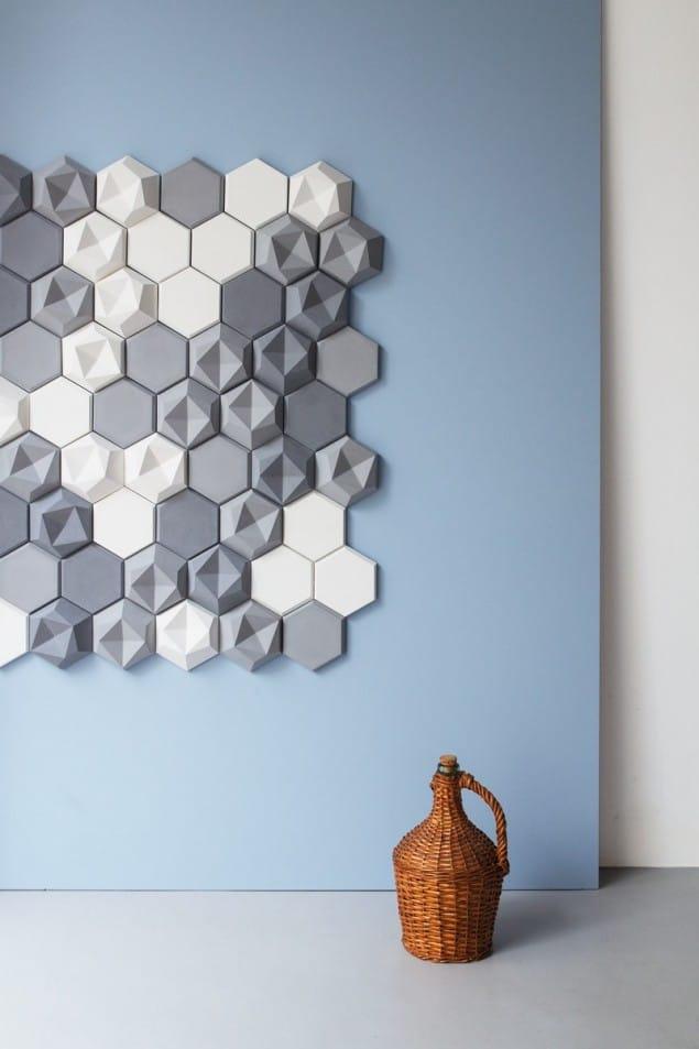Edgy Tiles from Kaza Concrete