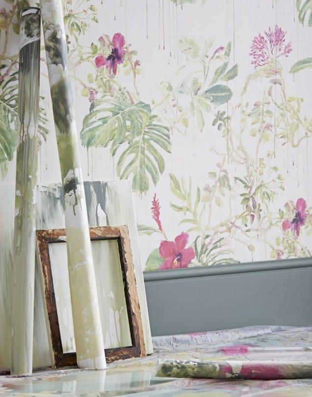 Sian Zeng Spring Wild Rain Wallpaper