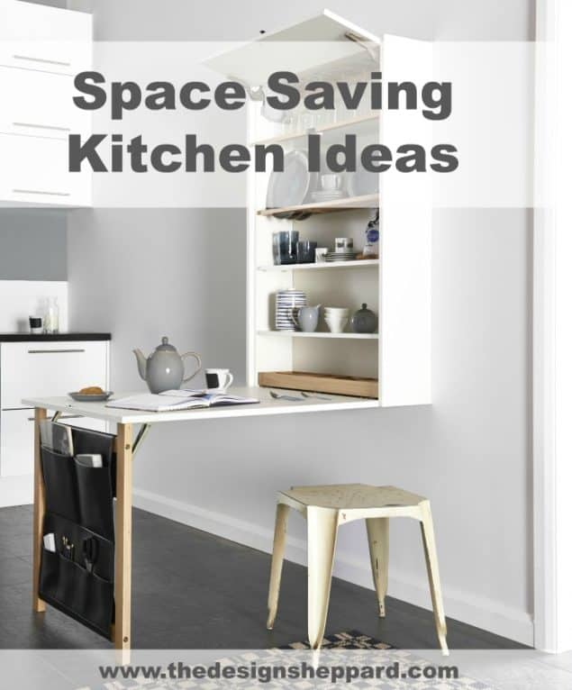 Space Saving Kitchen Ideas - Table Plus by Magnet Kitchens
