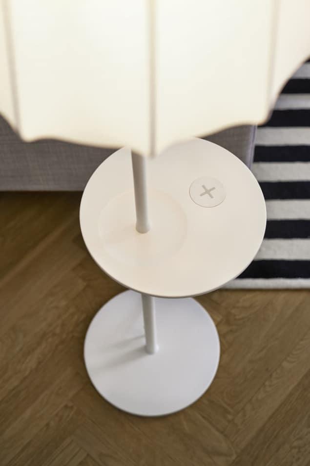 IKEA Wireless Charging Floor Lamp