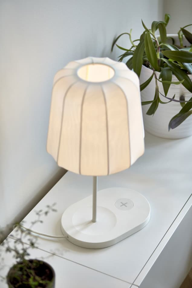 IKEA Wireless Charging Table Lamp
