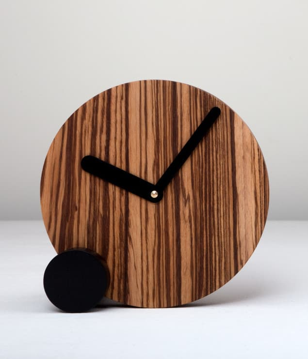 Just99 circlock_zebrawood
