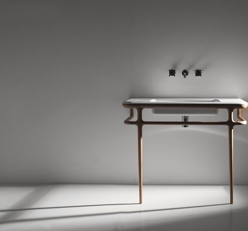 Armonia bathroom console by Antonio Lupi