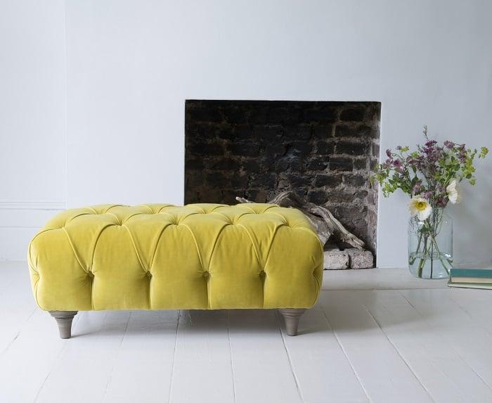 Loaf - Dimple large footstool