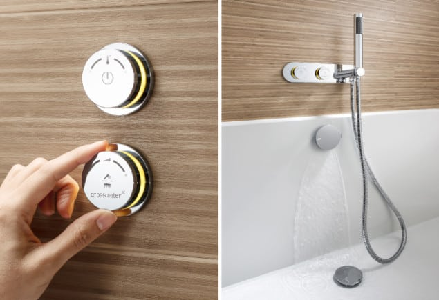 Crosswater Digital Showering Duo range