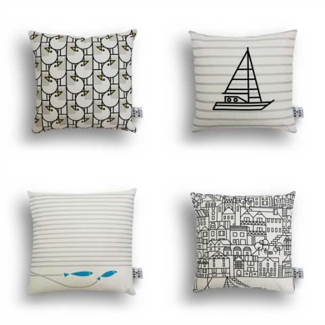 Bert & Buoy Cushion Collection