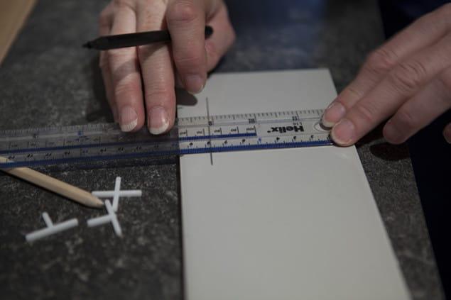 Measuring Kitchen Tiles