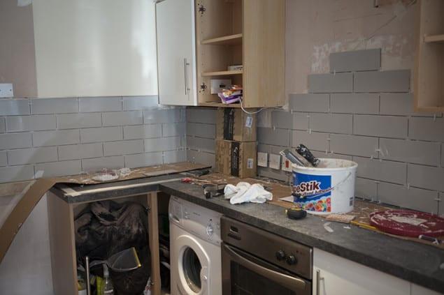 Partial Kitchen Progress