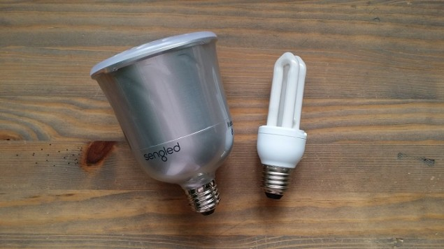 Sengled Pulse Regular Bulb Size Comparison