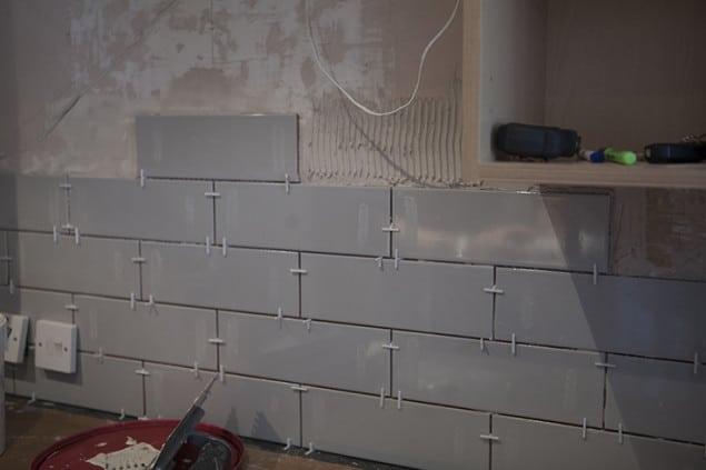 Spacing Kitchen Tiles