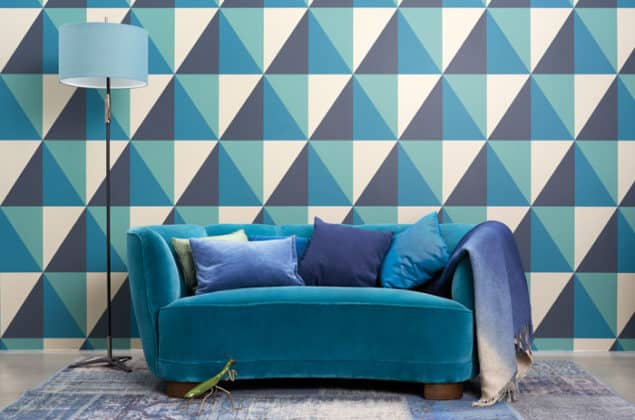 Cole & Son Geometric II Apex Grand Wallpaper