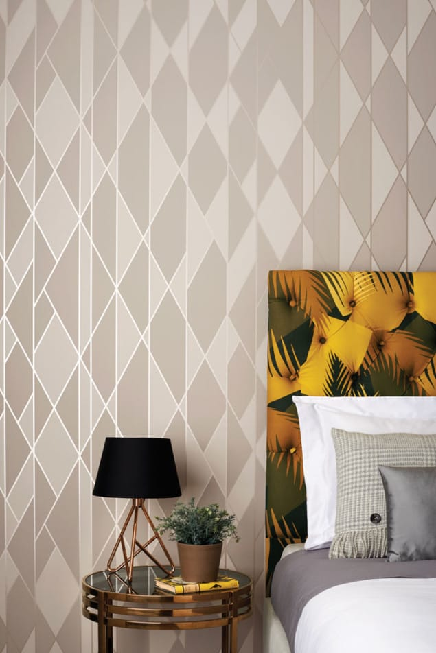 Cole & Son Geometric II Oblique Wallpaper