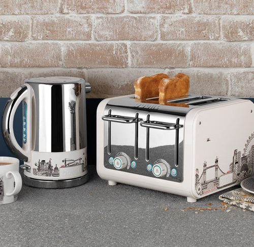 Dualit Architect Kettle Toaster featuring Charlene Mullen panels