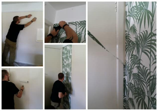 Hanging Honolulu Palm Wallpaper by Graham & Brown
