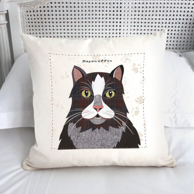 Ragamuffin Cushion by Simon Hart