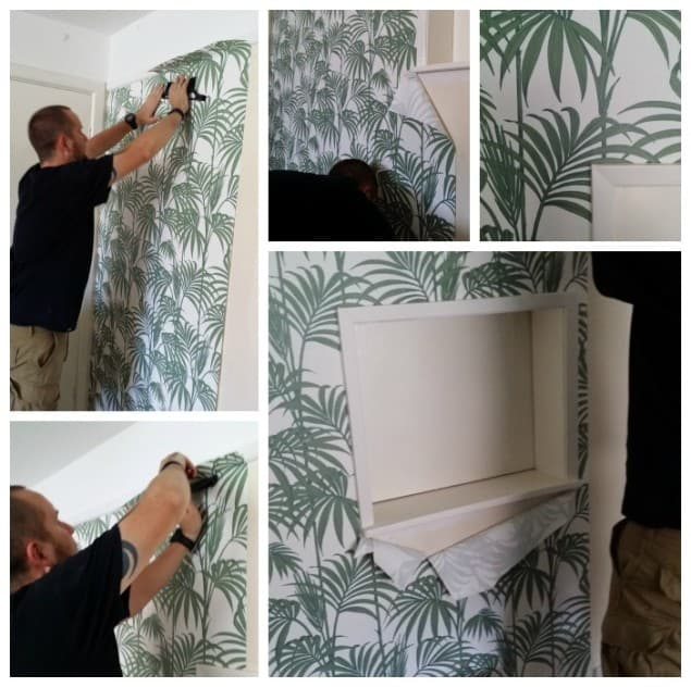 Wallpapering with Honolulu Palm Wallpaper from Graham & Brown