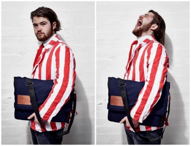 Felix Conran designer of the Ohyo bag