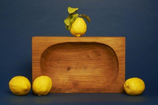 Oak Lemon Bowl by Felix Conran