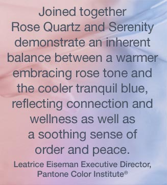 Pantone Colour of the Year 2016 Leatrice Eiseman Quote