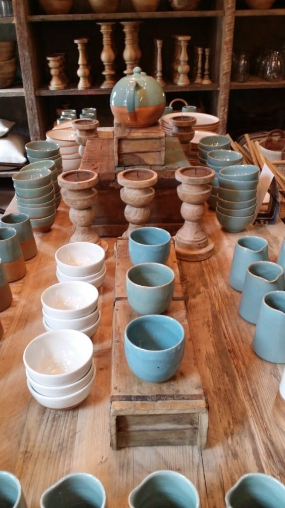Ceramics at Nkuku Lifestyle Store