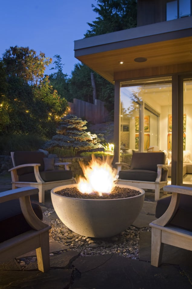 "Hemi 36"" Fire Bowl from Solus Decor"