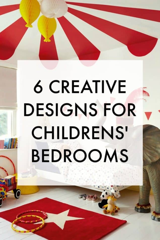 Paint manufacturer Dulux recently launched a kids' bedroom campaign to encourage parents to involve their children in the creative process when decorating their bedrooms. The result of the campaign was six creative designs for a child's bedroom that not only look fantastic but that aren't really even that difficult to create.